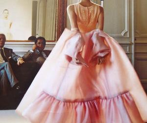 dress, fashion, and fashion show image