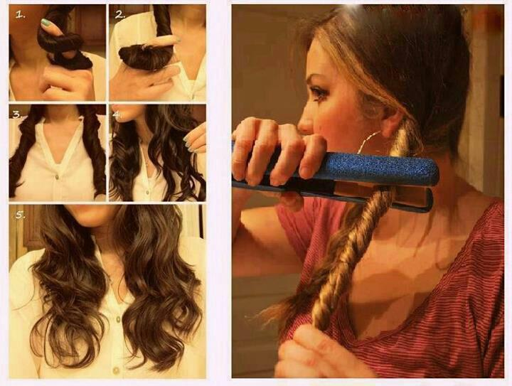 beautiful, hair, and do image