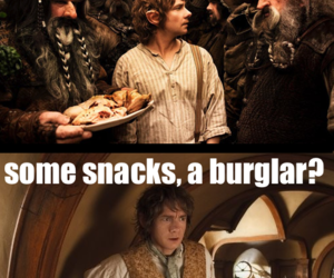frodo, funny, and hobbit image