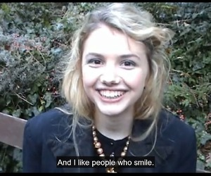 cassie, skins, and smile image