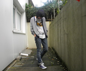asian, boy, and style image