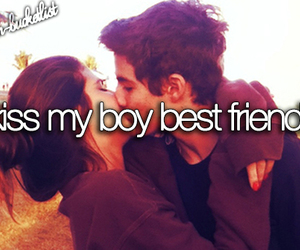 best friends, kiss, and bucket list image