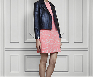 brand, jacket, and pink image