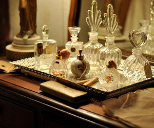 perfume, mirror, and photography image
