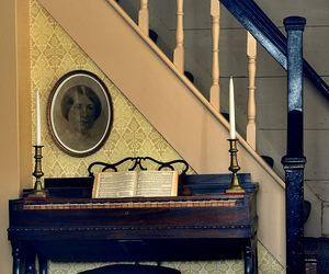 candles, old house, and Grand Piano image