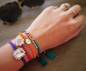 bracelets and diy image