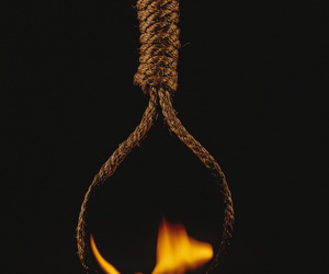 noose, dont commit suicide, and failed attempt image