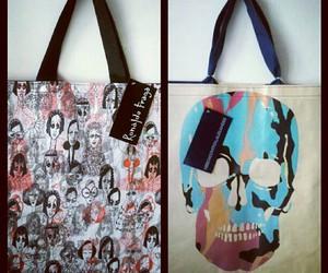 bag, skull, and instagram image