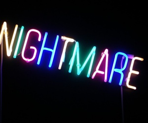 neon, nightmare, and grunge image