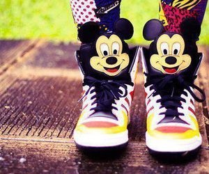 mickey, pretty, and shoes image