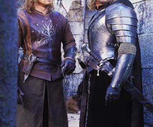 boromir, lord of the rings, and faramir image