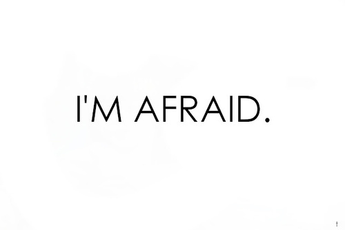 afraid, cool, i'm, perfect - inspiring picture on Favim.com