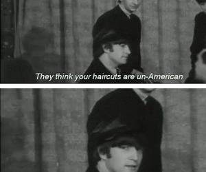 funny, john lennon, and the beatles image