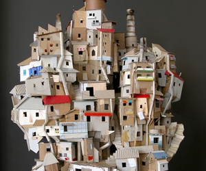 art, Houses, and slums image