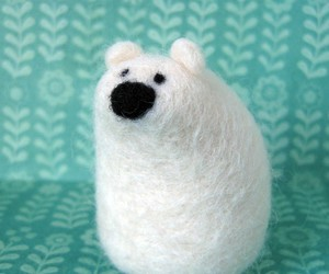 bear, teal, and cute image
