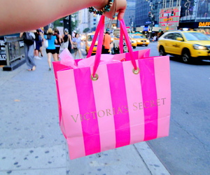Victoria's Secret, pink, and new york image