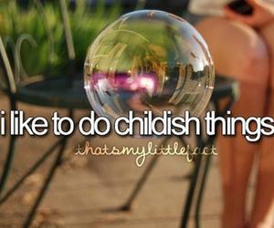bubbles, childish, and child image