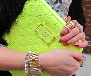 fashion, marc jacobs, and neon image