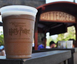 harry potter, butterbeer, and drink image