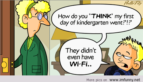 First day at kindergarten | Funny Pictures, Funny Quotes ...