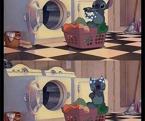 stitch, disney, and funny image