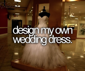 dress, before i die, and wedding dress image