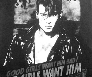 black and white, cry baby, and favorite image