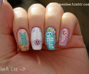 nails, cute, and Halloween image
