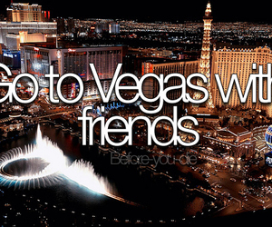 vegas, friends, and love image