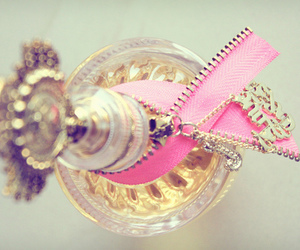 perfume, pink, and cute image