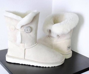 shoes, ugg, and white image