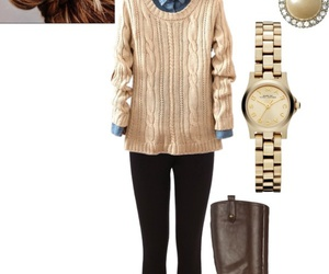 calm, chic, and clothes image