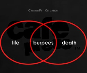 cross, death, and fit image