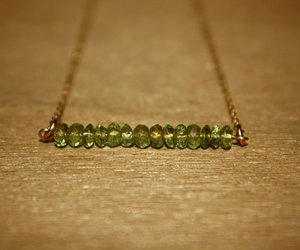 August, jewelry, and peridot image
