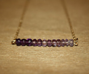 amethyst, ombre, and fashion image