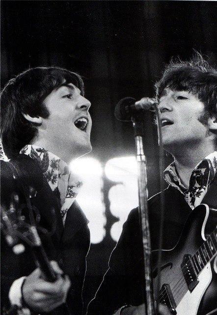 john lennon, Paul McCartney, and mclennon image