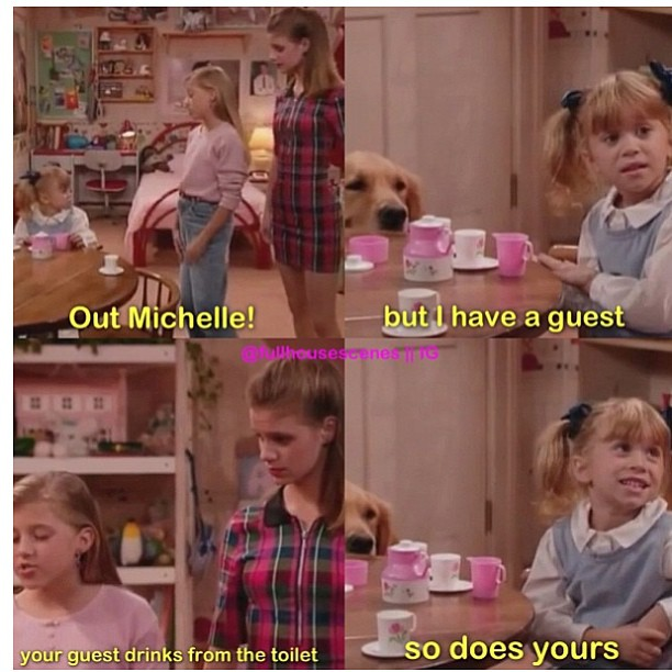 full house, michelle, and tv image