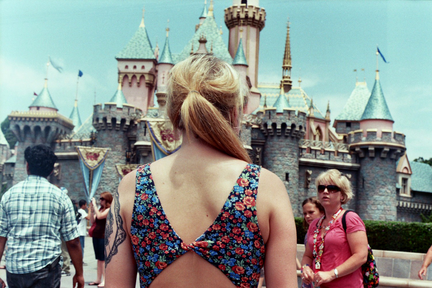 girl, disney, and blonde image
