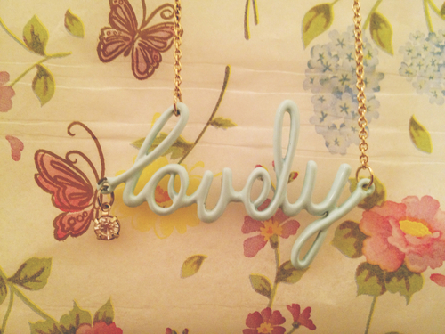 necklace, flower, and girl image