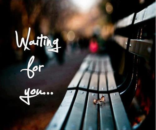 waiting, you, and quotes image