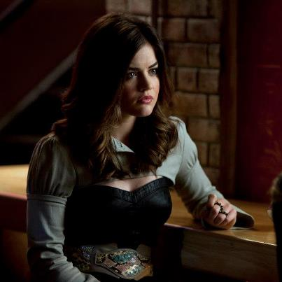aria and pretty little liars image