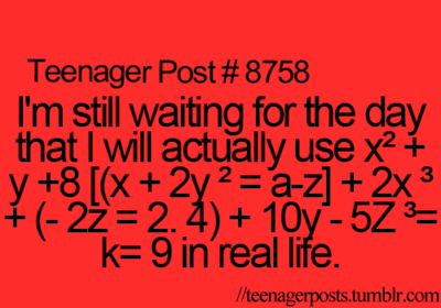 teenager post, math, and true image