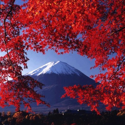 japan, mountains, and nature image