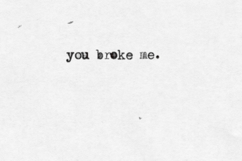 quotes, broke, and sad image