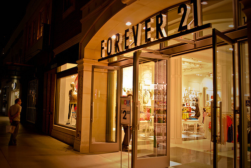 forever 21, shopping, and store image