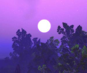 world of warcraft, wow, and night elves trees image