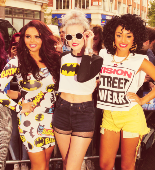 perrie edwards, leigh-anne pinnock, and little mix image
