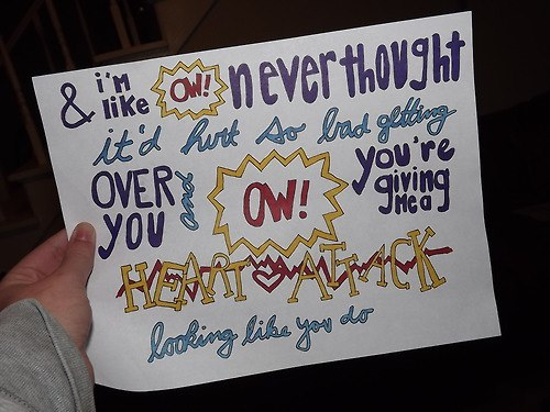 heart attack, Lyrics, and one direction image