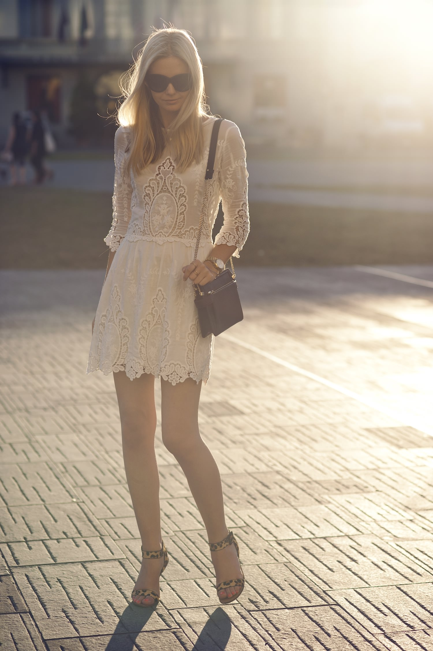 style, dress, and lace image
