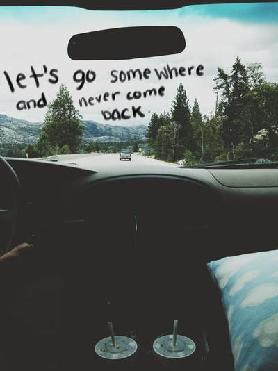 quotes, car, and travel image